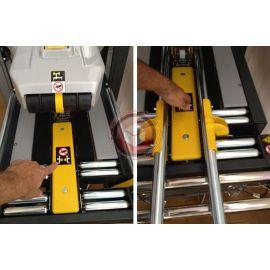 Zaklejarka kartonów SIAT SR46 - automatyczne dopasowanie do wielkości kartonu.