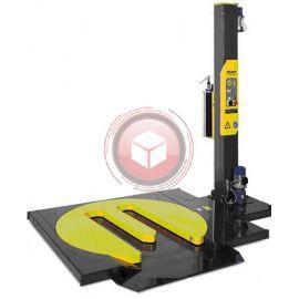 Owijarka palet SIAT F1L-HS 15-LP rozciąg folii Pre stretch 200% stół wycięty pod paleciak 1500 mm
