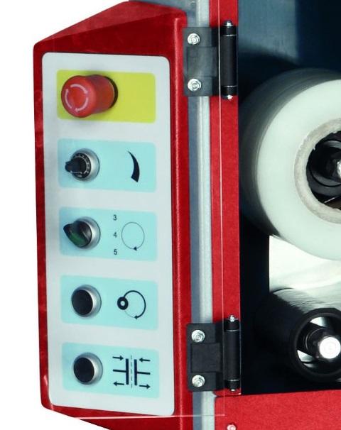 Panel sterujący owijarka pozioma manual Noxon S