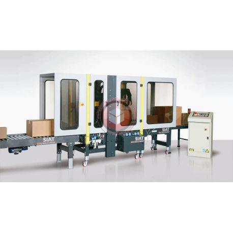 Zaklejarka kartonów SIAT SM44HS Automat dopasowujący się do różnej wielkości kartonów