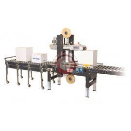 Zaklejarka kartonów SIAT SR4 - automatyczne dopasowanie do wielkości kartonu.