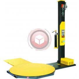 Owijarka palet SIAT F1L-15-FM naciąg elektro-magnetyczny stół 1500 mm